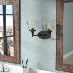 Trent Austin Design Panorama Point Heirloom Bronze 2-Light Vanity Light