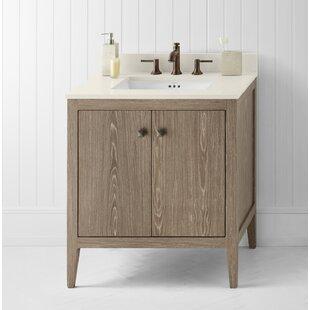 Sophie 30 Single Bathroom Vanity Base by Ronbow
