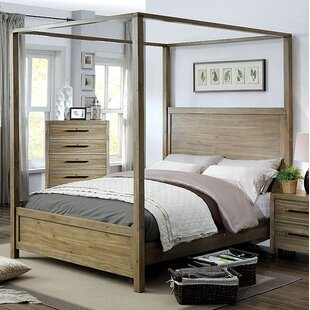 Atchison Canopy Bed by Foundry Select