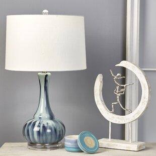 Donita Glass Bottle 28 Table Lamp