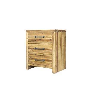 Read Reviews Camilo 3 Drawer Nightstand by Union Rustic