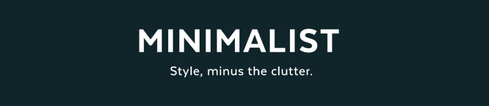 Minimalist Style Shop