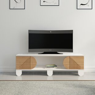 Reviews Bartholomew TV Stand for TVs up to 50 by Orren Ellis Reviews (2019) & Buyer's Guide