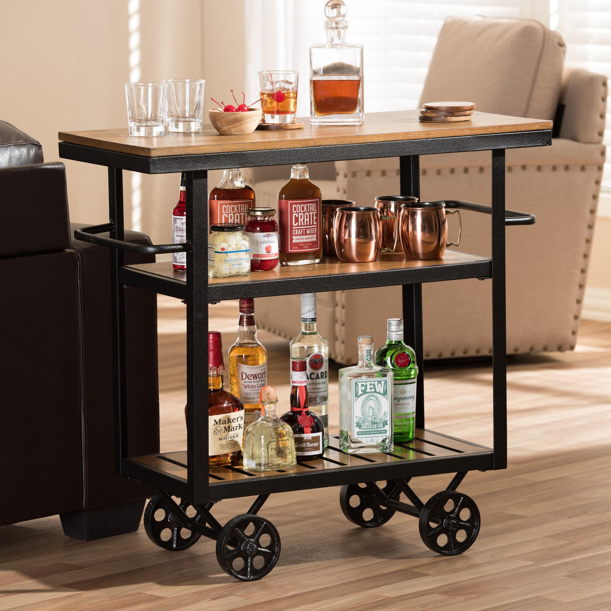 Livingston Bar Cart Reviews Birch Lane