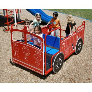 Spring Kid Vision Style Fire Engine ByKidstuff Playsystems, Inc.