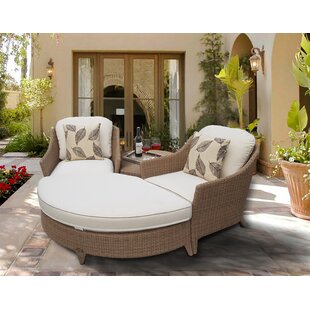 Sariahn Couples 4 Piece Conversation Set with Cushions by Bloomsbury Market