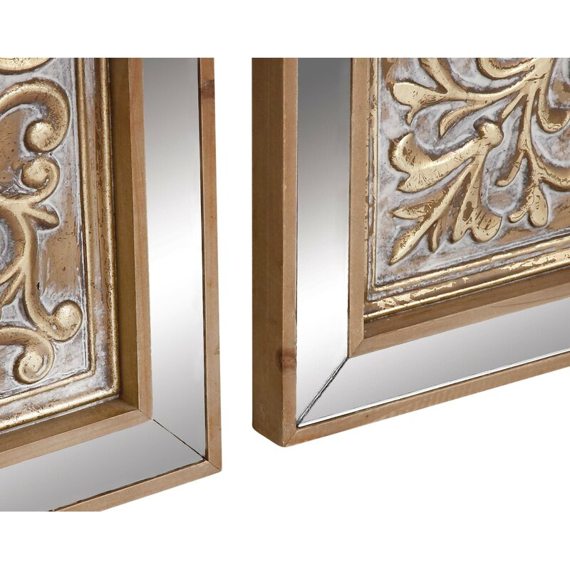 3 Piece Mirror Wall Decor from secure.img1-fg.wfcdn.com