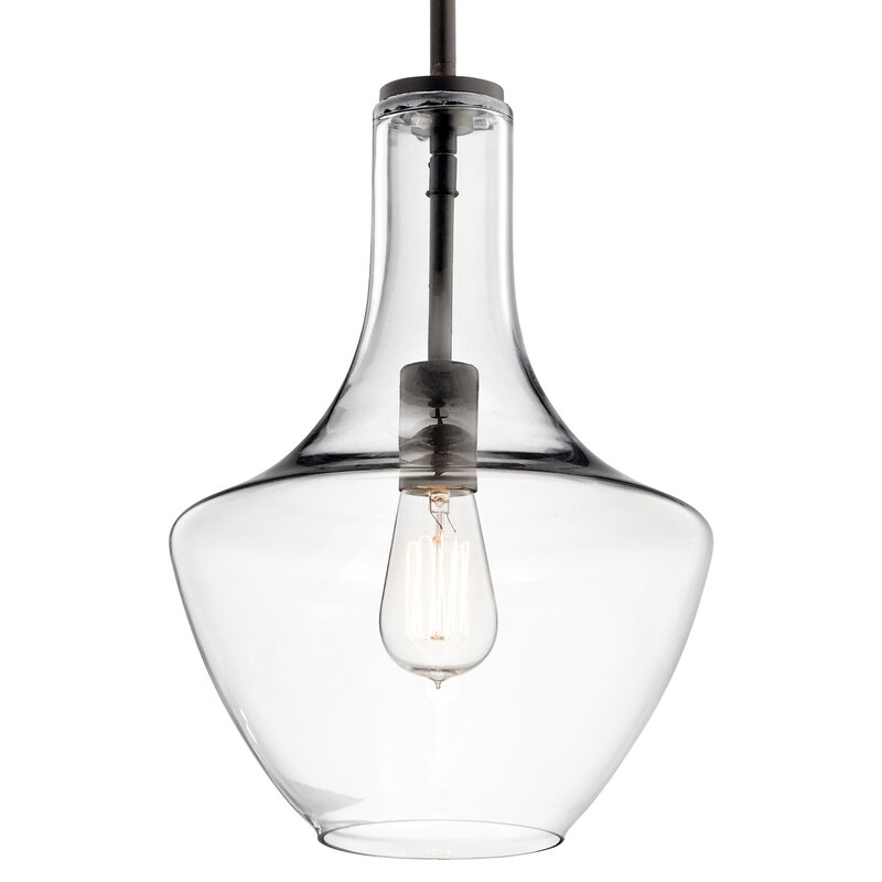 Goffredo 1-Light Schoolhouse Pendant