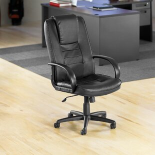 Compare Promotional High-Back Leather Executive Chair By OFM