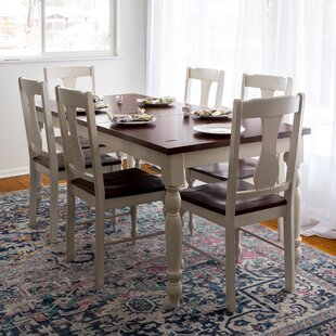 Bay Isle Home Hodslavice 7 Piece Dining Set