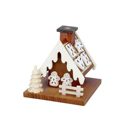 The Holiday Aisle Christian Ulbricht Gingerbread House Incense Burner