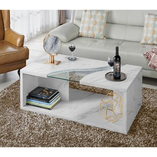 Hahn Floor Shelf Coffee Table With Storage By Wrought Studio