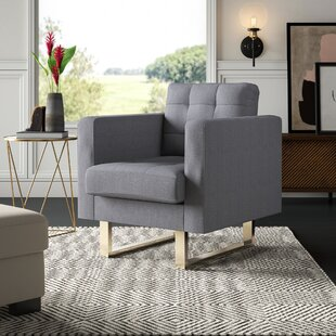 Lysander Armchair by Mercury Row Coupon