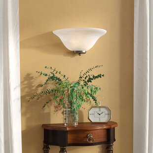 Compare & Buy Gurney 1-Light Traditional Wall Sconce By Three Posts