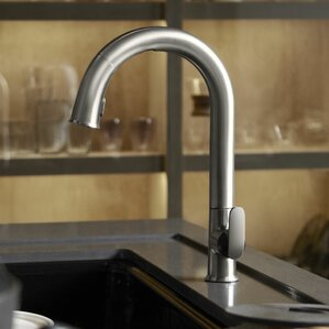 Kohler Sensate Touchless Kitchen Faucet with 15-..