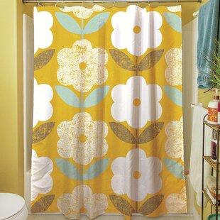 Jar Of Sunshine Vintage Blossoms Shower Curtain
