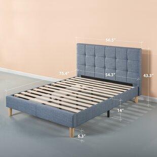 Corrigan Studio Dimattia Upholstered Platform Bed