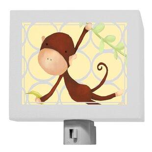Oopsy Daisy Hanging Monkey Night Light