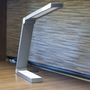 Erie Triangle Qi Charging 16 Desk Lamp