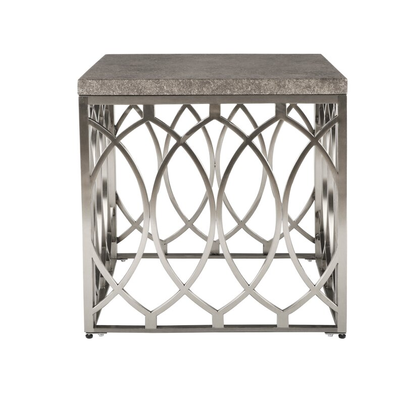Everly Quinn Wirksworth Square Frame End Table Wayfair
