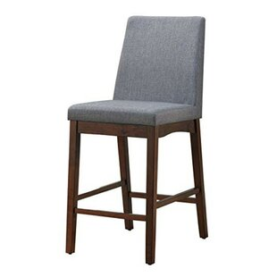 Reich Counter Height Upholstered Dining Chair (Set Of 2) by Ebern Designs Comparison