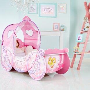 Disney Princess Carriage Toddler Bed with light up canopy & Princess Canopy Bed | Wayfair.co.uk