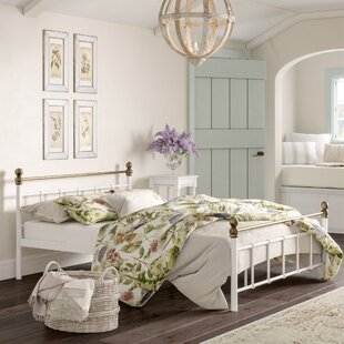 Petit Double Bed Frame By Fleur De Lis Living