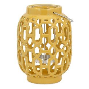 Essentials Ceramic Lantern by Woodland Imports