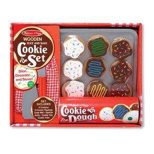 Compare prices 34 Piece Cookie Baking Play Set By Melissa & Doug