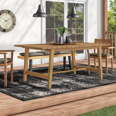 Bremen Solid Wood Dining Table by Foundry Select Looking for