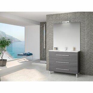 Rupert 1000mm Free Standing Single Vanity By Belfry Bathroom