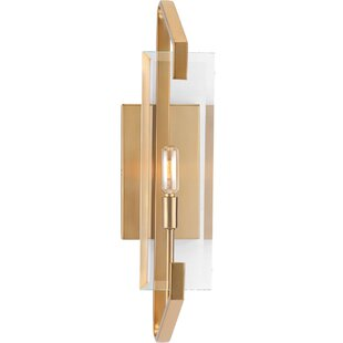 Janessa 1-Light Bath Sconce by Mercer41