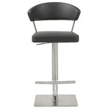 Harworth Swivel Adjustable Height Bar Stool by Orren Ellis