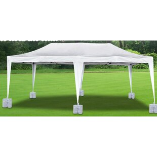 Wedding Party 20 Ft. W X 10 Ft. D Steel Pop-Up Canopy by Strong Camel