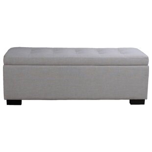 Wade Logan Thom Upholstered Storage Bench