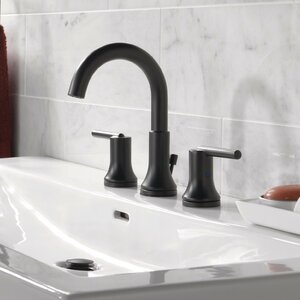 Deck Mounted Double Handle Bathroom Faucet and Diamond Seal Technology