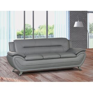 Gatto Modern Living Room Sofa by Orren Ellis