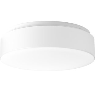 Ebern Designs Mcculloch 1-Light LED Flush Mount