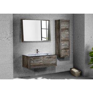 Pruett 32 Single Bathroom Vanity Set with Mirror