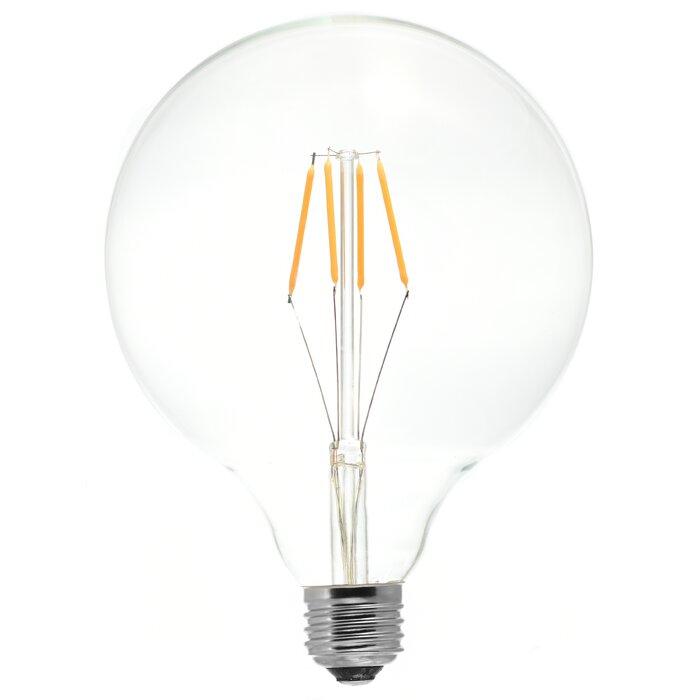 4w E26 Dimmable Led Edison Globe Light Bulb