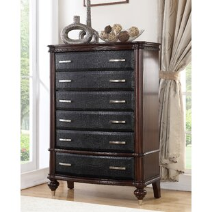 World Menagerie Bohemia Luxury 6 Drawer Chest