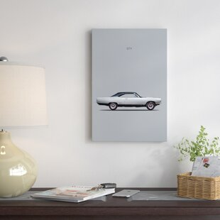 '1969 Plymouth GTX Coupe' Graphic Art Print on Canvas ByEast Urban Home