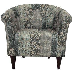 Haley Barrel Chair by Ebern Designs