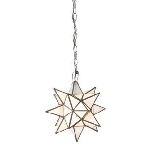 Worlds Away Star 1-Light Pendant