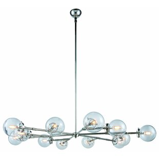 Corrigan Studio Roman 12-Light LED Chandelier