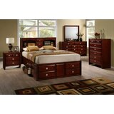 Lenita 3 - Drawer Nightstand in Brown by Charlton Home®