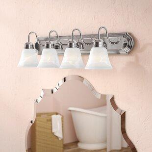 Best Price Newtown 4-Light Vanity Light By Charlton Home