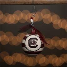 South Carolina Stripe Ball Ornament ByGlory Haus