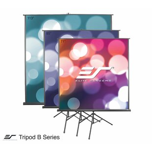 Tripod B White Portable Projection Screen