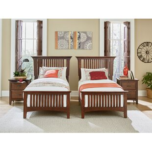 Zussen Twin Panel 4 Piece Bedroom Set by Harriet Bee